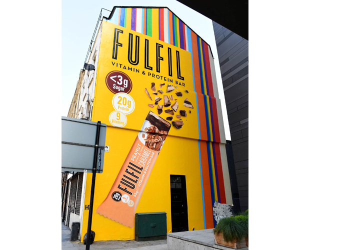 Fulfil vitamin & protein bar paints London yellow 2 - Red Star Brands